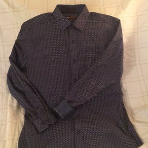 Johnston & Murphy long sleeved button down shirt